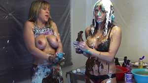 Ariel And Jilly Pantyhose Filling